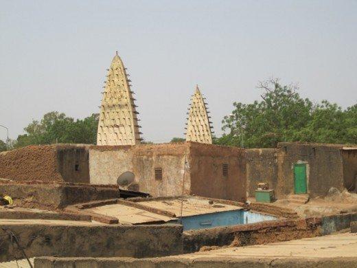 Minarets, Burkina Faso