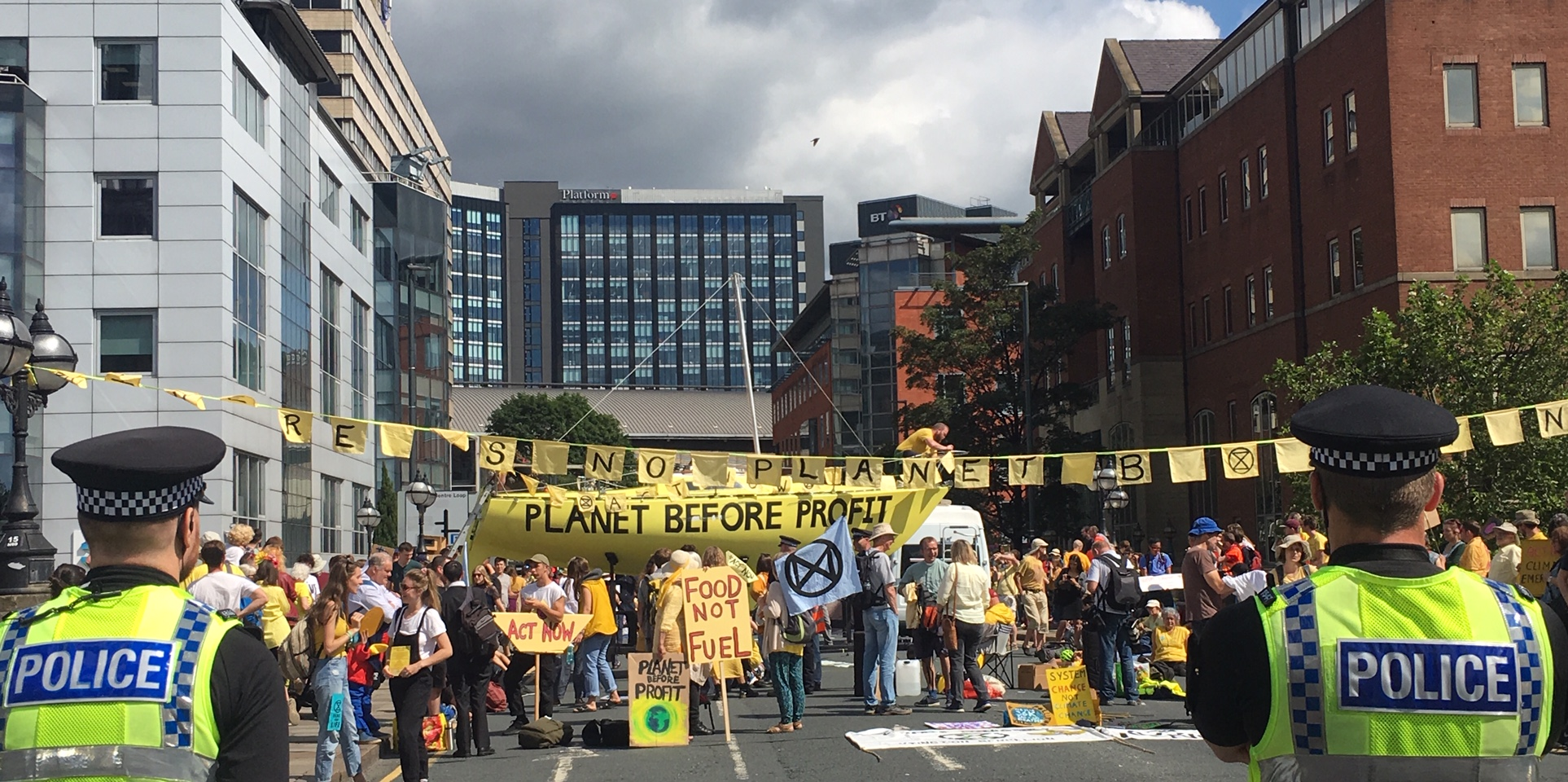 10 thoughts from an Extinction Rebellion newbie