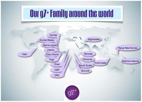 g7+ donors foreign aid