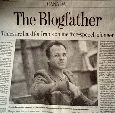 Hossein Derakhshan - Hoder - the Blogfather
